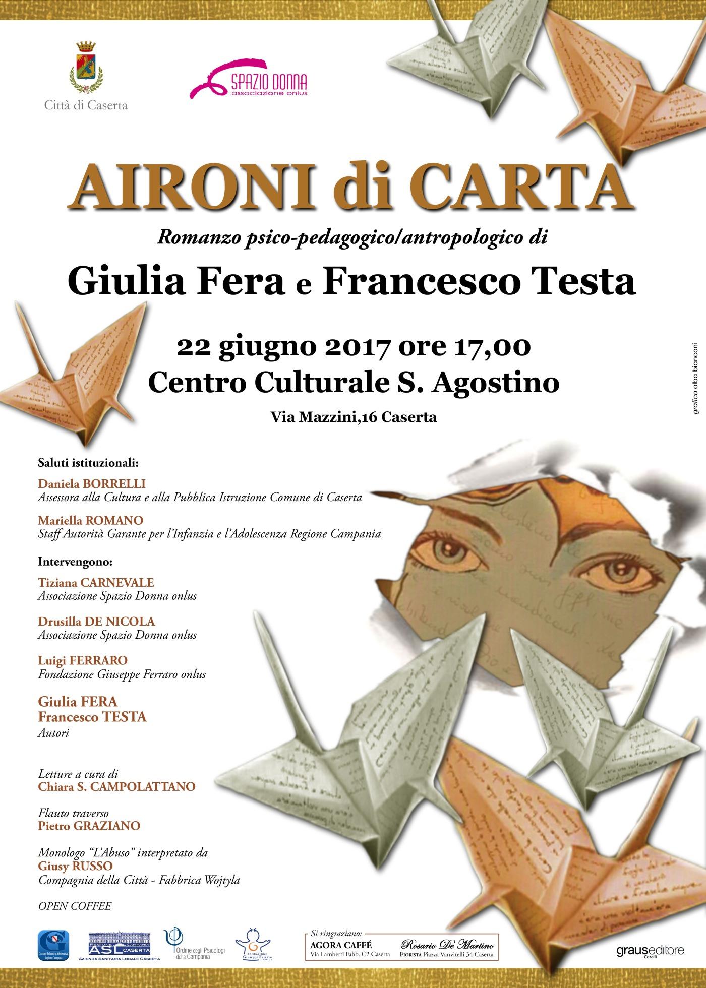 Giulia Fera E Francesco Testa Presentano Il Romanzo Aironi